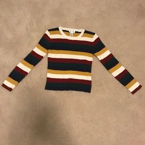 Girls Size XL Striped Sweater Worn a few times